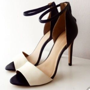 Zara Spring Summer 2013 Black & White Heels